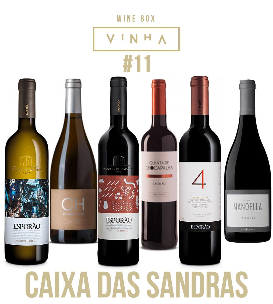 Wine Box Seleção Rodolfo Tristão #11 Caixa das Sandras Portugal